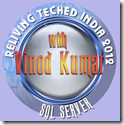 Reliving TechEd 2012 with Vinod Kumar 1